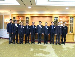 권오준 회장님과 PWAC 회원 기념사진